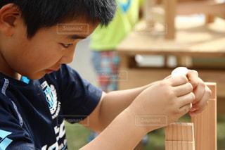 子供の木工教室の写真・画像素材[1325519]