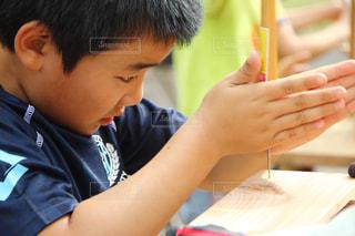 子供の木工教室の写真・画像素材[1326605]