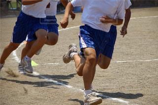 運動会、徒競走の写真・画像素材[1398601]