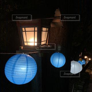 灯籠と提灯の写真・画像素材[2602285]