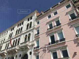 イタリアのお洒落な建物の写真・画像素材[1321953]