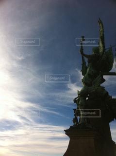 ベルリン大聖堂の石像の写真・画像素材[1349654]