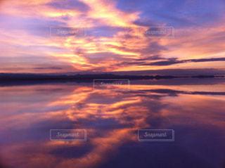 ウユニ塩湖の写真・画像素材[1366585]