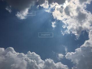 雲と空の写真・画像素材[1377586]