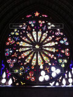 ステンドグラスの写真・画像素材[1455714]