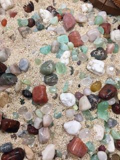 砂とストーンの写真・画像素材[1382182]