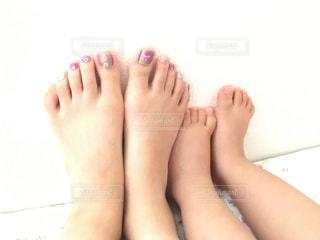 足の大きさの写真・画像素材[1327873]