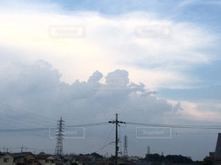 入道雲の写真・画像素材[1327921]