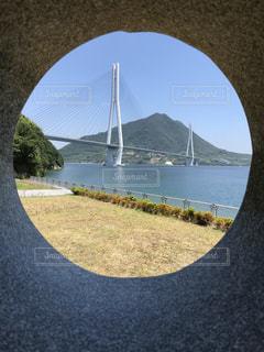 水の上の橋の写真・画像素材[1352485]