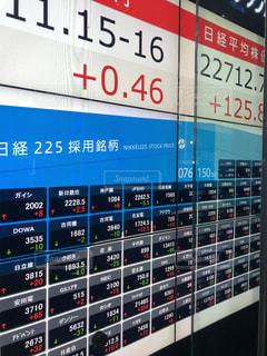 Stock market nowの写真・画像素材[1329990]