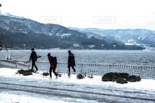 洞爺湖との写真・画像素材[1424795]