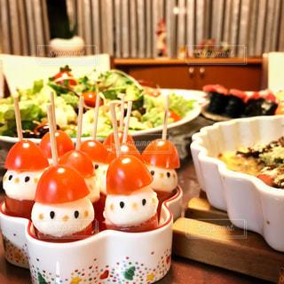 クリスマスディナーの写真・画像素材[1340008]