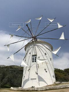 風車の写真・画像素材[1351723]