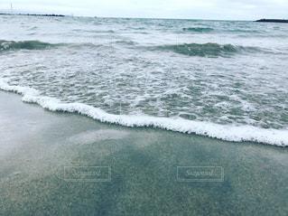 海で波に乗っている男の写真・画像素材[1329531]
