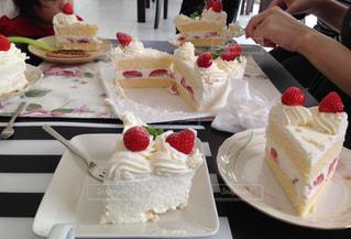 いちごケーキの写真・画像素材[1628744]
