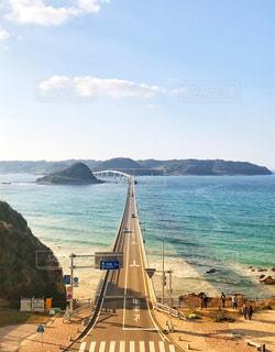 角島大橋の写真・画像素材[1801338]