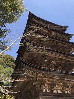 国宝瑠璃光寺五重塔の写真・画像素材[1851011]
