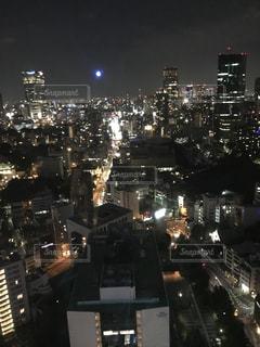 東京を見下ろしての写真・画像素材[1419013]