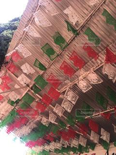 メキシコの切り絵「パペルピカド」の写真・画像素材[1334352]