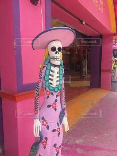 メキシカンなドクロのオブジェの写真・画像素材[1335600]
