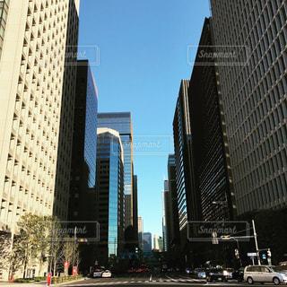 都市の高層ビルの写真・画像素材[732856]