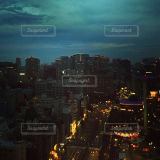 夜の街の景色の写真・画像素材[732857]