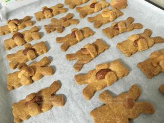 手作りクッキーの写真・画像素材[1335809]