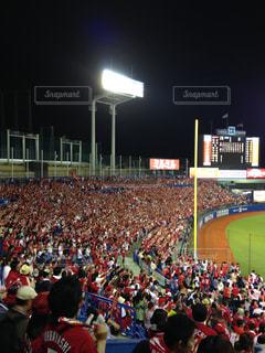 野球観戦の写真・画像素材[1431691]