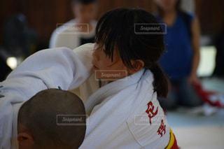 試合を頑張る女の子の写真・画像素材[1334728]