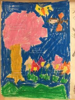 桜の絵の写真・画像素材[1330866]