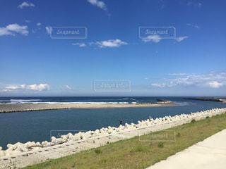 壮大な海の写真・画像素材[1337702]