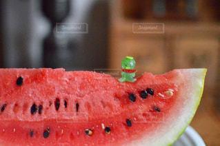 美味しいスイカの写真・画像素材[1361509]