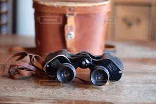 双眼鏡の写真・画像素材[1373987]