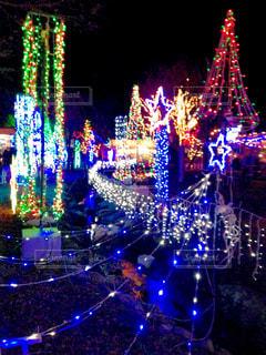 クリスマスの夜の写真・画像素材[1336970]