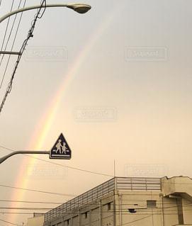 空に虹の写真・画像素材[1711759]