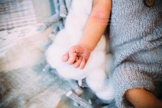 赤ちゃんの手の写真・画像素材[1333317]