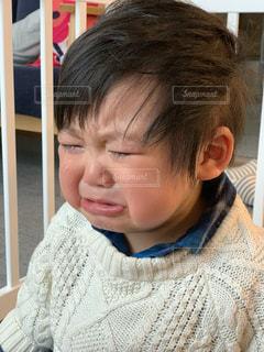 泣く子どもの写真・画像素材[1747543]