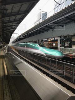 東京駅新幹線ホームの写真・画像素材[1335169]