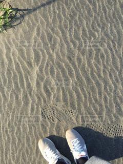 砂浜でジョギングの写真・画像素材[1331329]