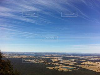 山から見た景色の写真・画像素材[1343649]