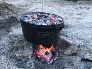 ダッチオーブン料理の写真・画像素材[1465779]