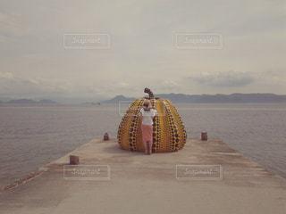直島にての写真・画像素材[1333636]