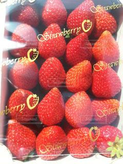 スーパー 美味い 苺の写真・画像素材[1343691]
