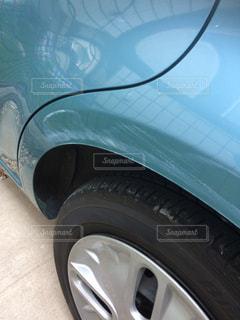 車のすり傷の写真・画像素材[1335512]