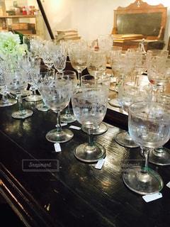 ワイングラスの写真・画像素材[1383821]