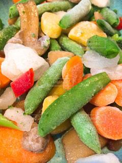 冷凍カット野菜の写真・画像素材[1483361]