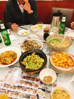 中国での会食の写真・画像素材[1649133]
