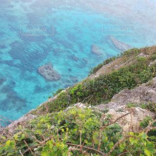 珊瑚礁の断崖絶壁の写真・画像素材[1332530]