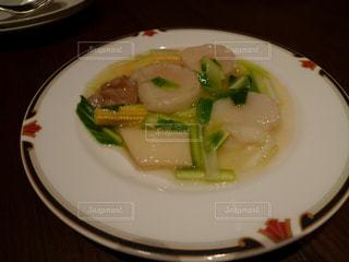 ホタテと筍料理の写真・画像素材[1335697]