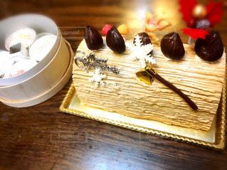 クリスマスケーキの写真・画像素材[1341925]